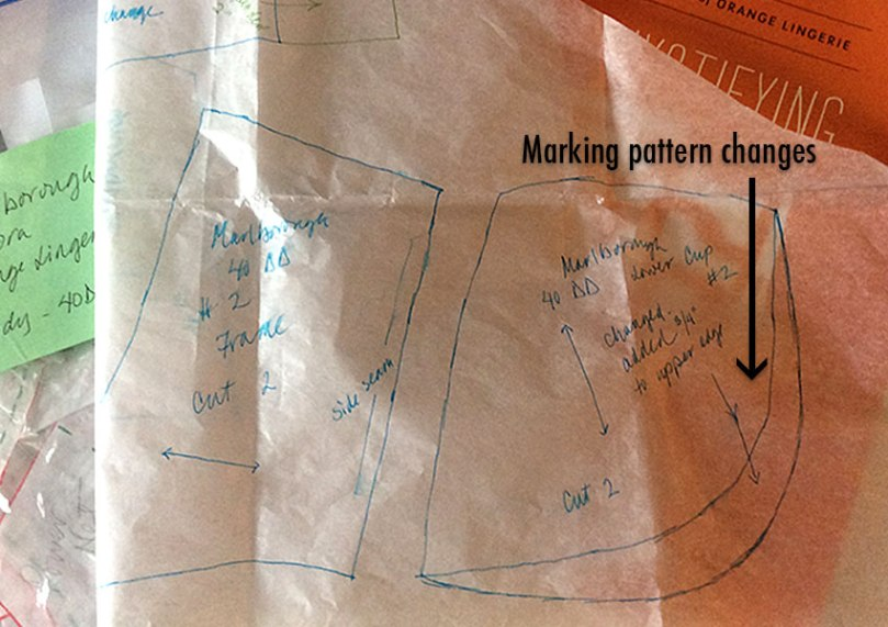 Marking pattern changes