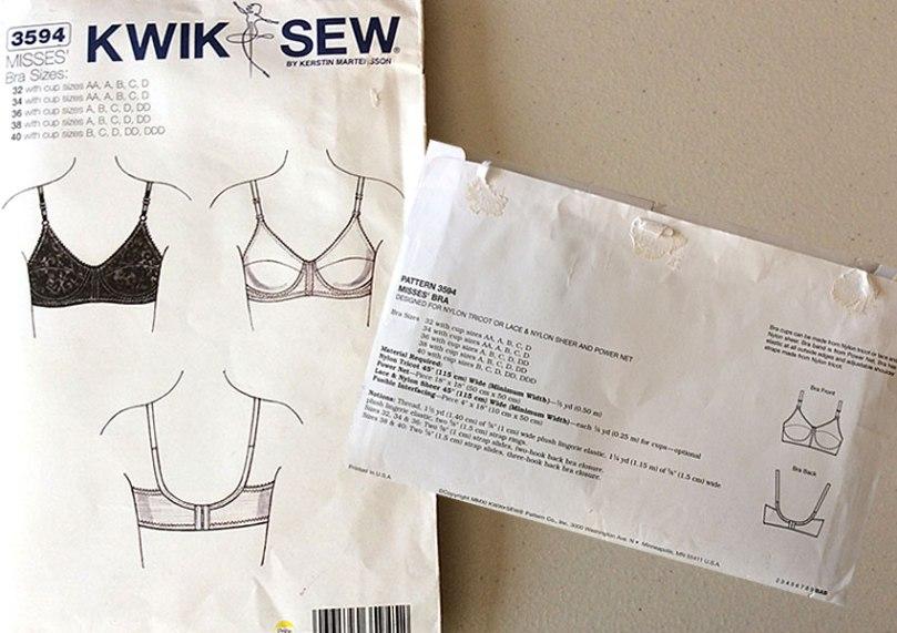 Kwik-Sew 3594 bra pattern