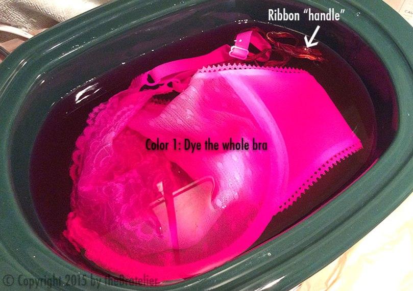 Color 1 dye bath