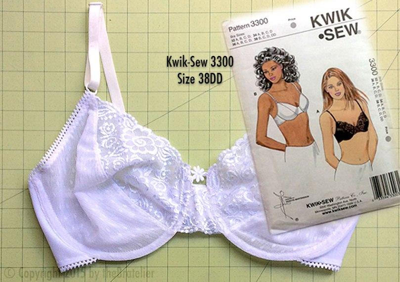 Kwik-Sew 3300 bra pattern