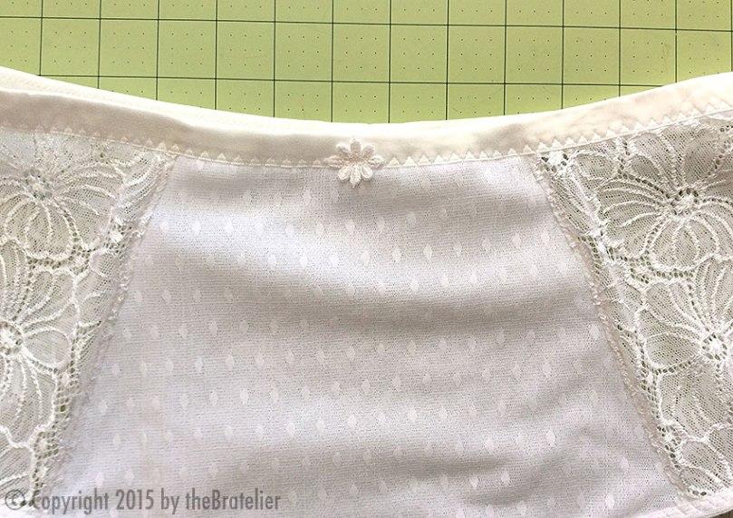 Little White Panty detail