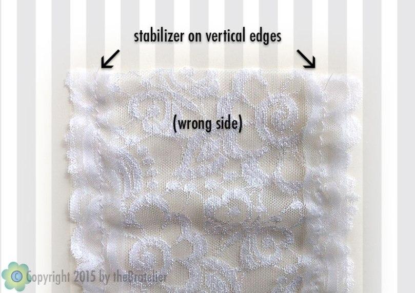 Stabilizing back panel