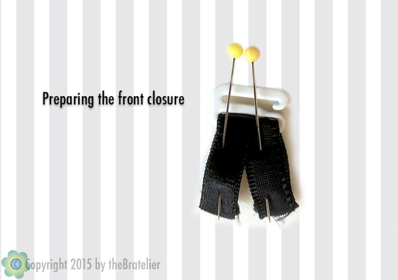 Making the front closure